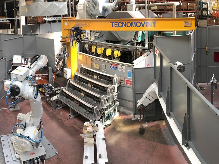 Leggi news | 2 0 1 8 . . .   New robotised welding areas