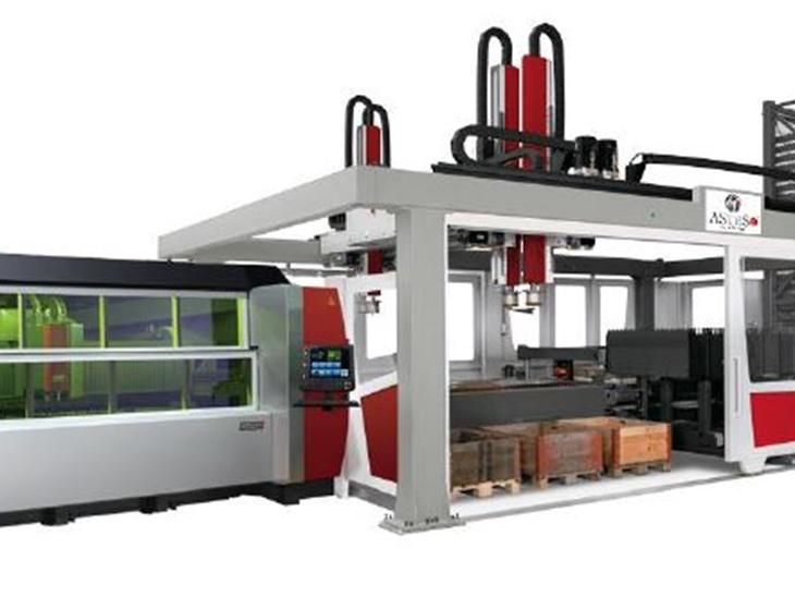 Leggi news | 2 0 1 8 . . .   Neue Anlage Fiberlaser mit 8000 Watt